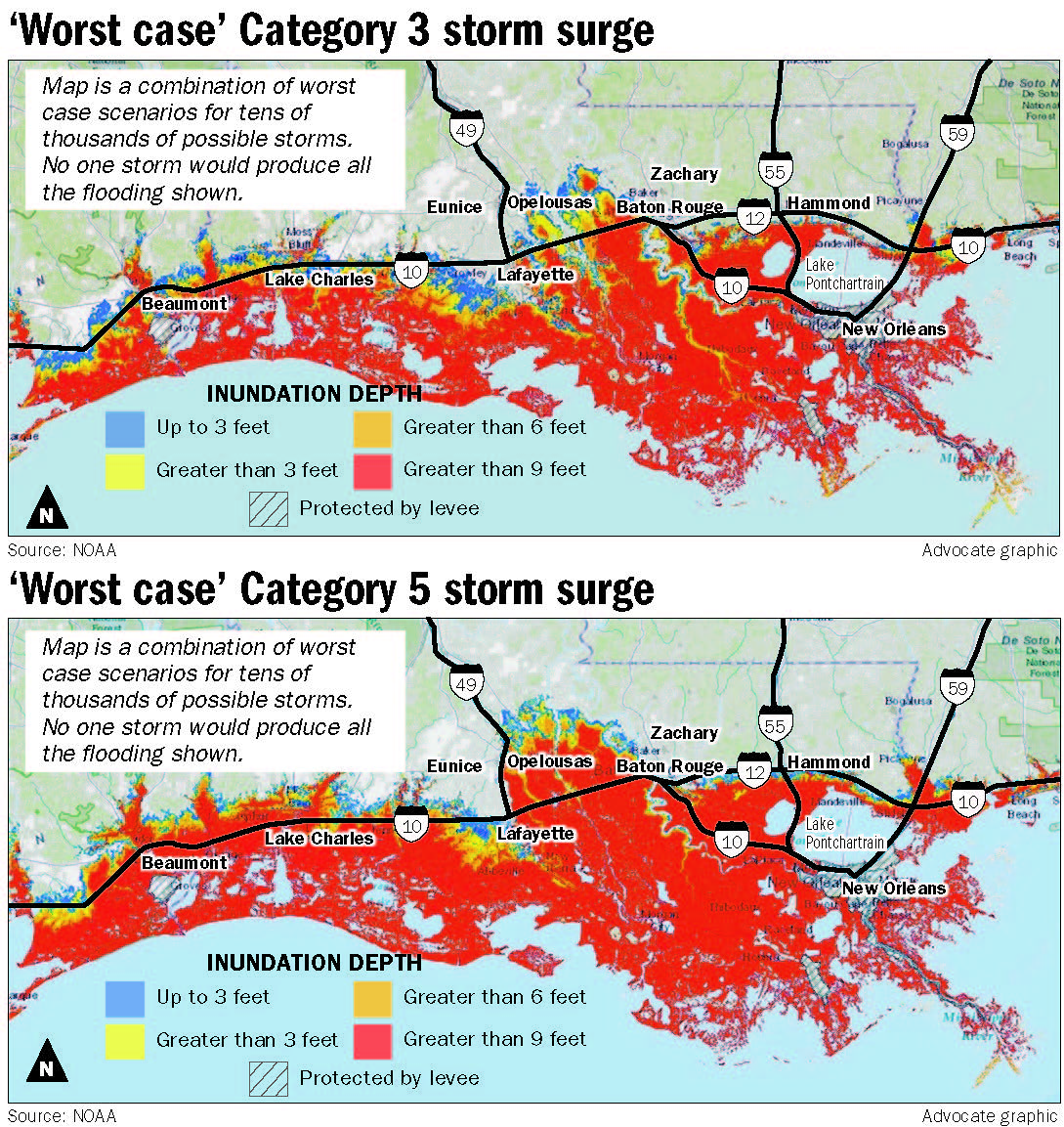 110814 Category 3 and 5 surge