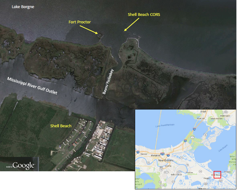 Fort Proctor map